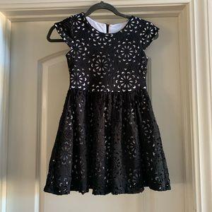 Rare Editions Black & White Formal dress, size 7/8